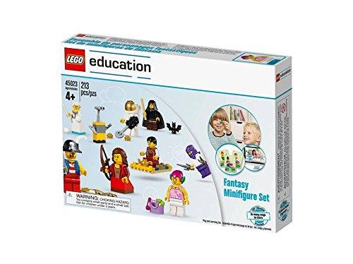 Lego Education Fantasy - Set da 213 mini figure per gioco di costruzioni, multicolore, adatto a partire dai 4anni