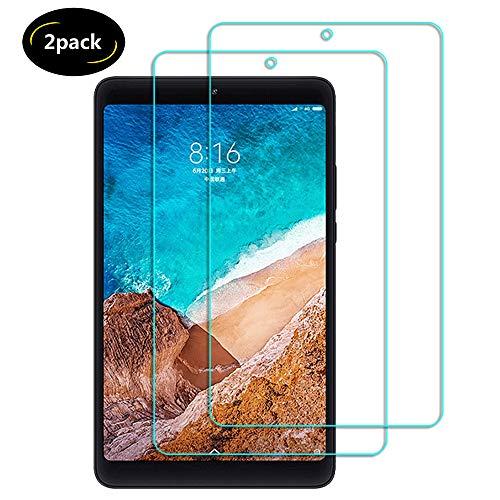 Lusee 2 Stück Schutzfolie für Xiaomi Mipad 4 / Mi Pad 4 8.0 Tablet [9H Härte] Displayschutzfolie HD Schutzfolie [Anti Kratzer] [Anti Fingerabdruck] 2.5D Panzerfolie