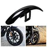 HDBUBALUS Motorcycle Front Fender Mudguard Cover Fits for Harley Sportster Iron 883 Super Low XL883L 2004-2016