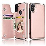 Thybx Samsung , für Galaxy A11 Wallet Case mit