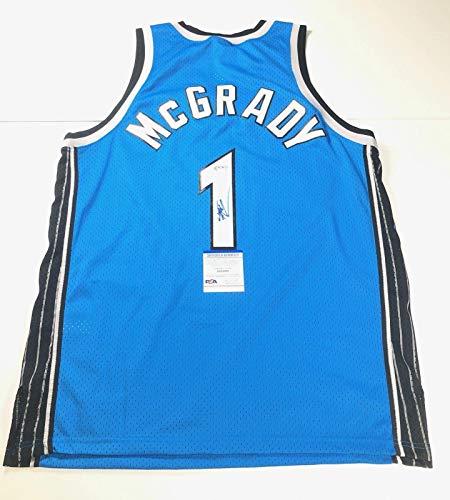 Tracy McGrady signed jersey PSA/DNA Orlando Magic Autographed - Autographed NBA Jerseys