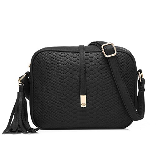 Realer Small Shoulder Bags PU Leather Side Purse Cross Body Purses for Women