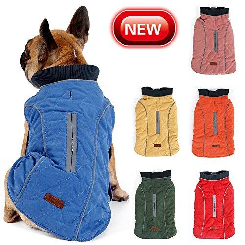 Abrigo de invierno para mascotas, cálido, para perros pequeños, medianos y grandes