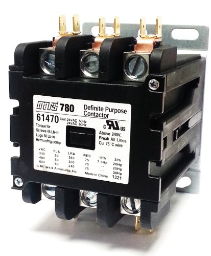 MARS 61470 Contactor (Direct Replacement of Furnas 42EF35AJ)