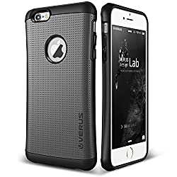 commercial iPhone 6S case, Verus [Thor][Charcoal Black]  – – [Military Grade Drop Protection][Natural Grip]  behind… verus thor case