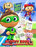 Super Why Activity Book Preschool Workbook For Kids: An Awesome Activity Book For Kids With Many Interesting Games And Illustrations Of Super Why