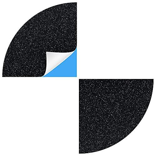 Blackshell® Emblem Aufkleber passend für BMW Logo - 74 tlg. Set für alle Embleme am Auto in diamond Schwarz