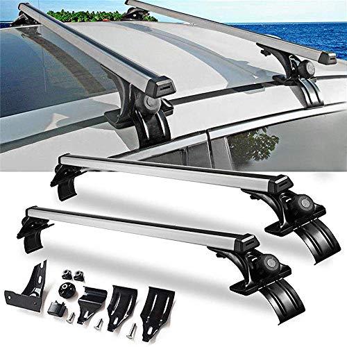 Barras de techo barras transversales, Marco de ventana de aluminio estilo universal barras de techo del carril de la Cruz Bares, Ventana de aluminio para techos marco del bastidor del carril de la C