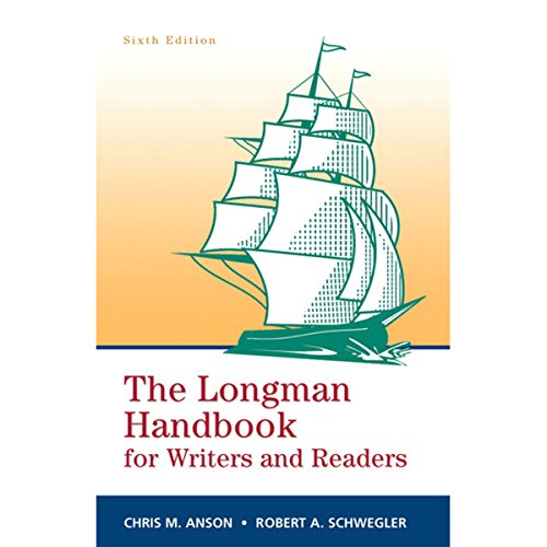 VangoNotes for The Longman Handbook for Writers and Readers, 6e                   By:                                                                                                                                 Chris M. Anson,                                                                                        Robert A. Schwegler                               Narrated by:                                                                                                                                 Dennis Holland,                                                                                        Maria Hickey                      Length: Not Yet Known     Not rated yet     Overall 0.0
