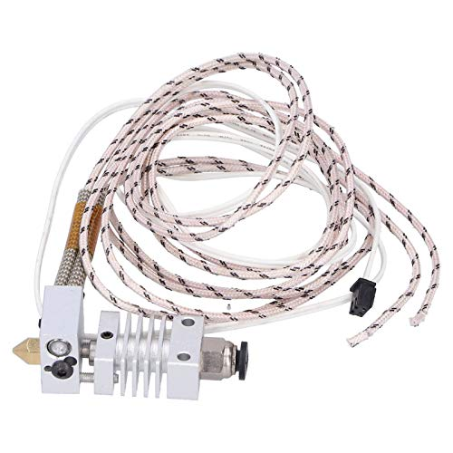 Hotend Extruder Kit Male Thread Connection 1.75/0.4mm for Ender 3 CR10/CR‑10S 3D Printer Replacement Accessories (12v)