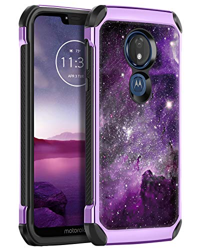 Moto G7 Optimo Maxx Rugged Bumper Case by BENTOBEN
