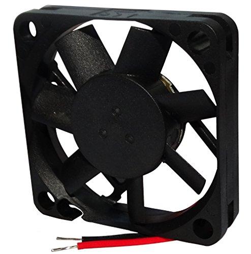 Aerzetix ventilator voor PC-behuizing, 12 V, 45 x 45 x 10 mm, 15,6 m3/h, 27 dBA, 5000 rpm, 26 AWG