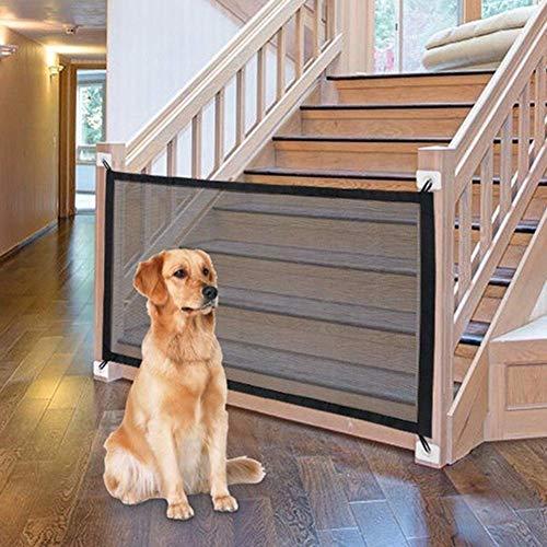 Ochine Haustier-Schutzgitter, tragbares Faltgitter für Hunde, magisches Hundegitter, geniales Netz, Hundezaun für Innen- und Außenbereich