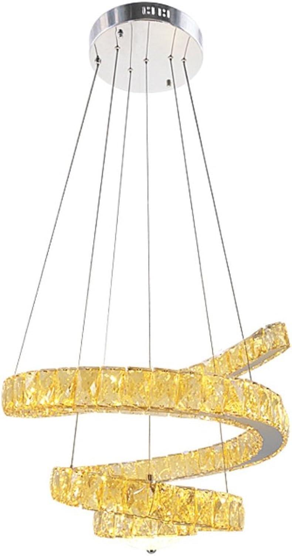 GAOXP Kristall Kronleuchter Edelstahl Gold Profilierte Kristall Kronleuchter
