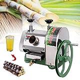 Manual Sugar Cane Juicer 110LBS/H Commercial Sugarcane Press Extractor Squeezer 304 Food Grade Stainless Steel - Ridgeyard