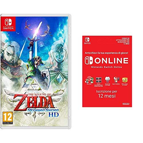 The Legend Of Zelda: Skyward Sword - Hd (Nintendo Switch ) + 365 Giorni Switch Online Membri Individual (Codice download)