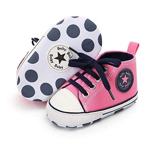 Luvable Friends Unisex Baby Crib Shoes, Brown Plaid, 0-6 Months