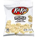 Hershey (1) Bag Kit Kat Minis Unwrapped - Crisp Wafers in White Creme Candy Pieces - Net Wt. 2.4 oz