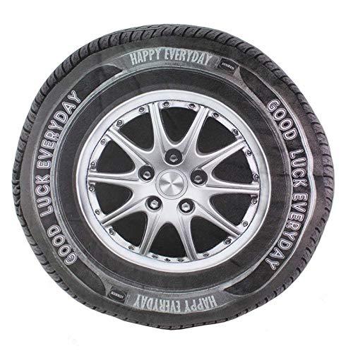 MiaoMiao pluche speelgoed 3D Kussen Auto Wiel Bolster Sofa Kussen Stoel Pad Gevulde Pluche Veel Geluk Dagelijks Tire Speelgoed Home Decor