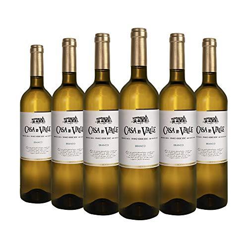 Pack Casa do Valle, Colheita Blanco, Vinho Verde (Portugal)  6 botellas  0,75L