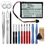 subtel Batterie Premium Compatible avec Tomtom Route XL, One XXL 540, XXL 550,...