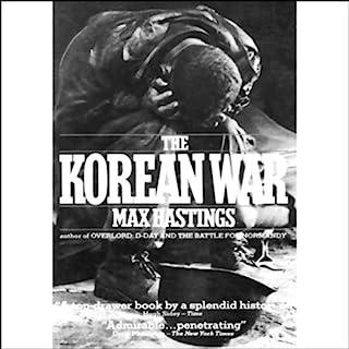 The Korean War audiobook cover art