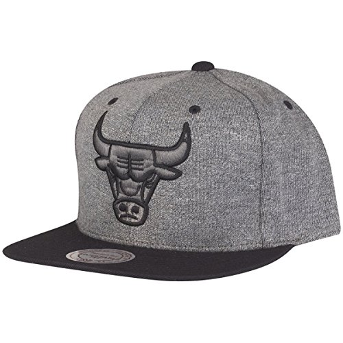 Mitchell & Ness Gorra Snapback - Broad II Chicago Bulls Gris