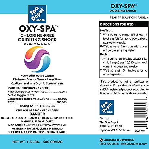 2-Pack Oxy-Spa Non-chlorine Hot Tub