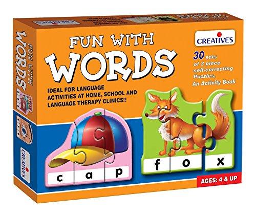 Creative Educational Aids P. Ltd. Fun With Words Puzzle (Multi-Color, 90 Pieces)