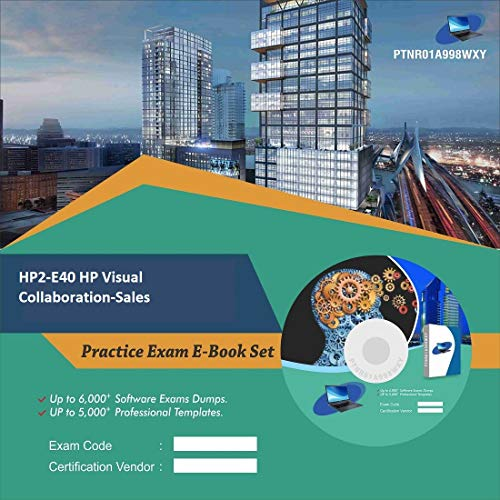 HP2-E40 HP Visual Collaboration-Sales Complete Video Learning Certification Exam Set (DVD)