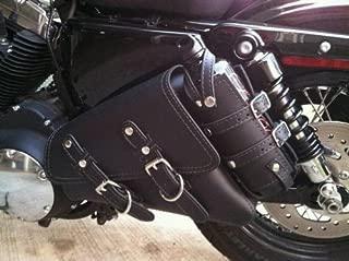 Sturgis SL701 Motorcycle Solo Saddlebag Side/Swing Arm Bag for Harley Davidson Sportster