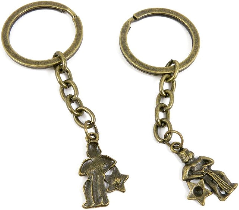 210 Pieces Fashion Jewelry Keyring Keychain Door Car Key Tag Ring Chain Supplier Supply Wholesale Bulk Lots D8CZ0 Aquarius