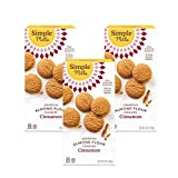 Simple Mills Almond Flour Cinnamon Cookies, Gluten Free and Delicious Crunchy Cookies, Organic Coconut Oil, Good for Snacks, Made with whole foods, 3 Count (Packaging May Vary)