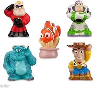 Disney Parks Bath Toys Including Woody, Nemo, Sully, Buzz, and Mr. Incredible