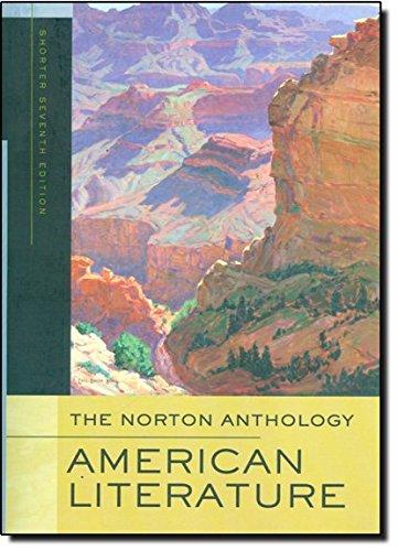 The Norton Anthology of American Literature (Shorter...