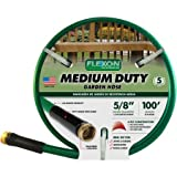 Flexon 100' Medium-Duty 5/8' Garden Hose, Green