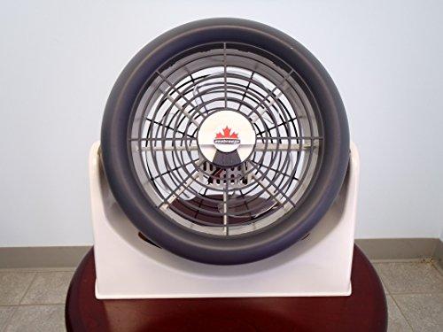 Seabreeze 320-0 'Turbo PT Aerodynamic 10' High Velocity Fan, White