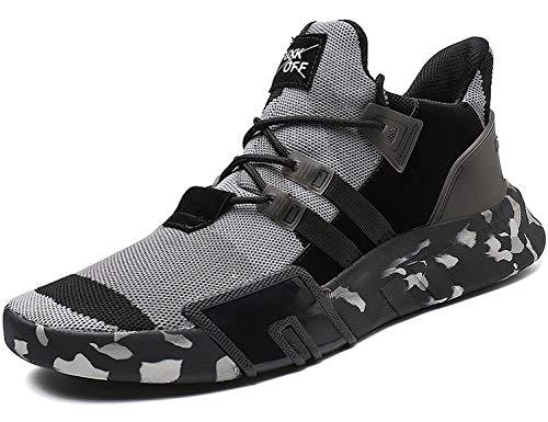 SINOES Herren Damen Leichte Laufschuhe Fashion Sneakers Sportschuhe Casual Gym Turnschuhe Atmungsaktive Schuhe