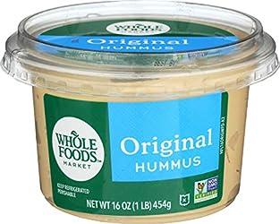 Whole Foods Market, Hummus Original, 16 Ounce