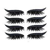 3-in-1 3D Falsche Wimpern Lidschatten Eyeliner set Stay&me natürliche weiche kurze künstliche...