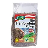 Bio österreichisches Hanfprotein Pulver 42% Eiweiß 3,5kg veganes Proteinmehl Low-Carb Hanf Protein glutenfrei 100% aus Österreich 14x250g