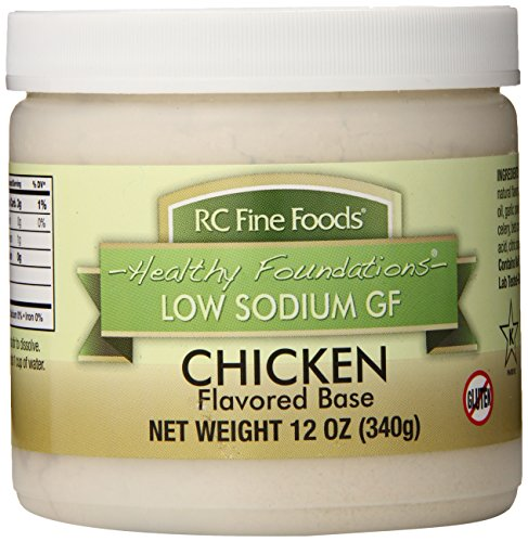 RC Fine Foods Healthy Foundations Low Sodium Gluten-Free Base, Chicken, 12...