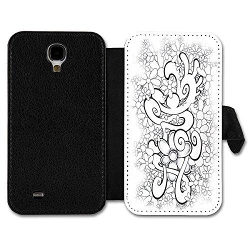 Book Style Flip Handy Tasche Hülle Schutz Hülle Schale Foto Motiv Etui für Huawei Ascend P7 Mini - A3 Design9
