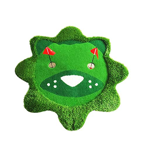 Find Discount Durable Children's Indoor Artificial Putter Green Youth Golf Putting Practice Cute Car...