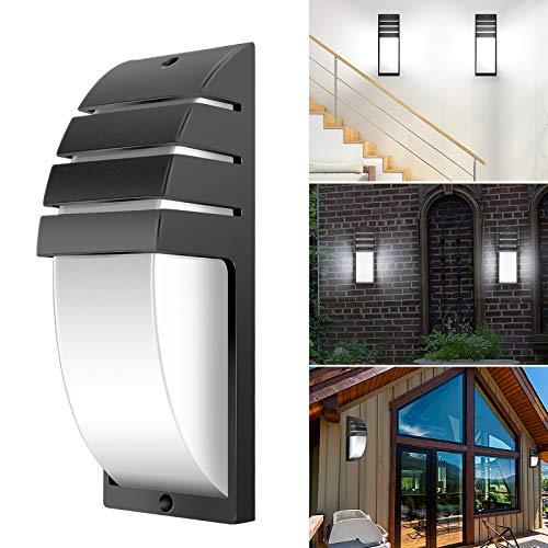 8W LED COB pared de la pared moderna lámpara simple montada en la pared 6000-6500K AC 85-265V luz de la noche impermeable para el balcón del pasillo de la casa