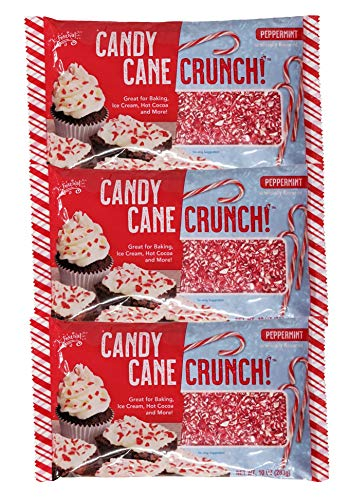 Crushed Peppermint Candy Canes Topping