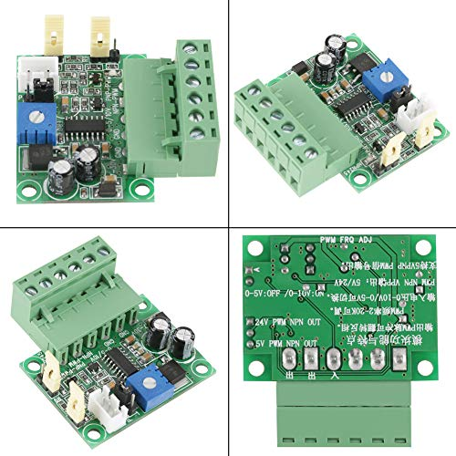 Check Out This Mini Size Adjustable DC 7-30V Voltage to PWM Converter 0-100% PWM Signal for Signal C...