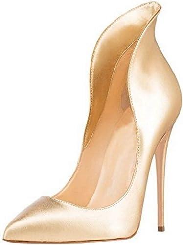 1TO9 MMS06578, Sandales Compensées Femme - Or - doré, 36.5