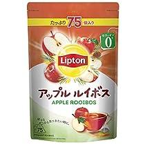 【Amazon.co.jp限定】 リプトン アップルルイボス 75杯分 デカフ...