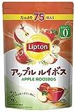 【Amazon.co.jp限定】 リプトン アップルルイボス 75杯分 デカフェ・ノンカフェイン ティーバッグ